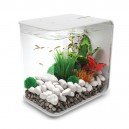 REEF ONE BiOrb Flow 15 Blanc - Aquarium contemporain