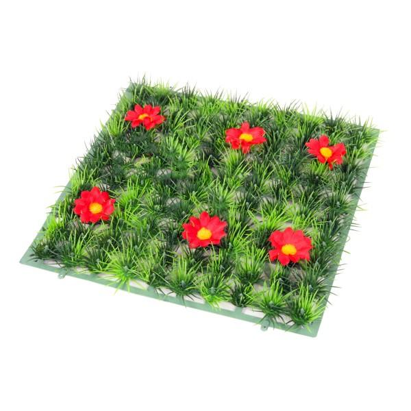 Plantes d coratives tapis fleurs rouges pour aquarium - Tapis chauffant pour plante ...
